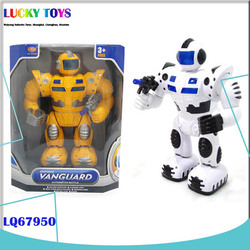 Promotional B/O robot wholesale battery operated robot toy