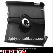 Fashionable book leather case for ipad