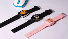 GPS tracking tracker watch phone for kids child children gps bracelet google map, sos button, free apps gsm gps locator