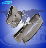 Metal cable clip for locking pv cable