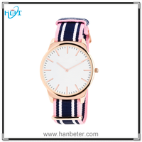 Unisex waterproof vogue watches 2015 for japan movement watch stainless steel back