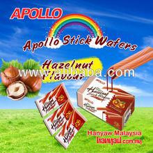 Apollo Stick Wafers Hazelnut