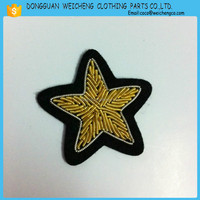 High quality cheap custom badges for arm ,hand embroidery designs