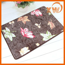 China supplier floor tile polyester pvc bath mat