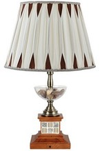 different countryside style and fresh feeling table lamp for reading room or bedroom side YL