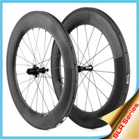 2015 YISHUNBIKE Ceramic Bearings carbon bicycle wheel 88mm tubular sapim cx-ray spokes road bike wheelset SLR880T