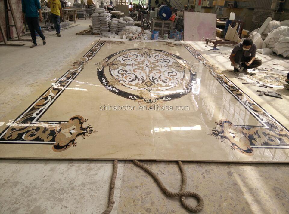Elegant Black White Colored Italian Luxury Marble Floor Design Buy