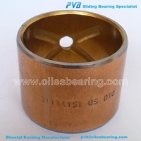Con rod bush MF240,Bimetal Bush Manufacturer,31134151 OS Bimetal Bearing for Massey Ferguson