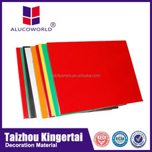 Alucoworld 2015 New Design ACM /ACP sheets 3mm pvdf aluminium composite interior wall panels