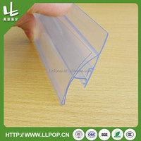clear slant back acrylic sign holder