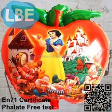 different fruit helium apple shape balloon