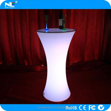 2015 modern design led bar table furniture .16 colors change with remote control .led bar table for bar or outdoor place