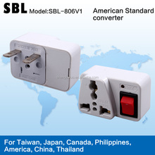 The conversion plug,American conversion head,Universal adapter plugs
