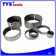 Excavator Accessories Hydraulic Cylinder Bearing Guidance Ring Copper + Silver plated DU Bushing