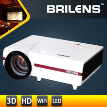 Brilens EL1280 Susan Shi Hot models in Europe for education,native 720p HD 3D projector for home theater watch video game play