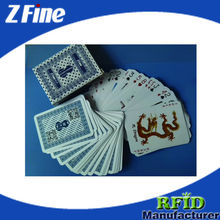 plastic custom playing cards manufacturer