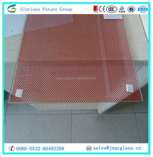 Excellent quality Silk Printed Tempered Float Glass