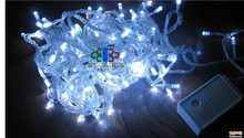 Christmas and holiday decoration 10 leds white star battery operated led fairy light string