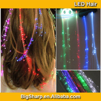 Wholesale LED Braids Girls Hair Light Flash Party Dress Decoration Light Up Hair Accessories LED Hair Light Hairpieces LH010