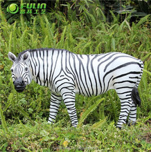 Zebra Polyresin Animal Statue 17.7""