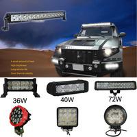 Off road light bar 120w IP67 car led light bar led light bar for atv suv trucks