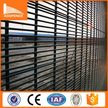Alibaba powder coated high safety metal iron welded anti-climb barriers