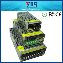YDS factory sales 12v dc power supply led transformer 110~220vac Input 12VDC 30A 360W LED Switching Power Supply with Fan