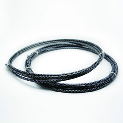 Natural Rubber braided wire tube suit ,high quality full rubber suit