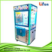 Captura única máquina de juego del juguete / captura de peluche de juguete juego / catch máquina expendedora de regalo
