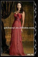 2012 new fashion designer dress