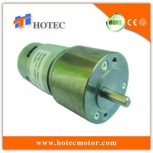 6.35mm shaft inline geared DC 12V high power electric motor