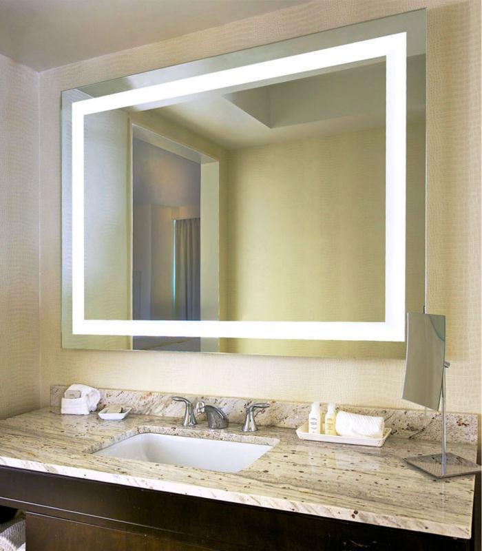 My Furniture Led Illuminated Bathroom Mirror Ip44 - Rialno Designs