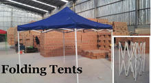 China Steel Folding Tents Factory