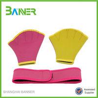 High quality popular GYM training neoprene waterproof swimming gloves