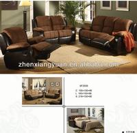 Big Sectional Sofa,Microfiber Reclining Sectional Couch, Living room