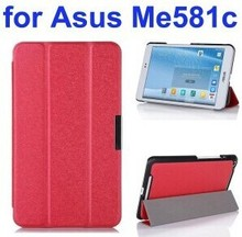 3 Folding Ultra Thin Flip Leather Tablet Case for Asus MeMO Pad 8 ME581C