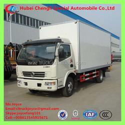 Dongfeng 6-8t Special Used Van Truck,Open Wing Van Truck,Movable Kitchen Truck In Kenya