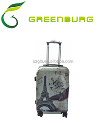 Hot Sale Factory Price Cheap Double Wheels PC+ABS Travel Luggage