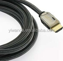 150ft Hdmi cable roll with nylon mesh metal head