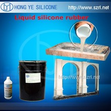 addition cure silicone rubber for faux stone, artificial stone wall covering mold making
