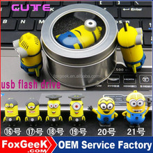 2015 hottest minion usb, mini despicable usb flash drive bulk 16gb usb flash drives,usb flash drives 128gb otg usb flash drive