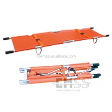 Aluminum alloy folding ambulance stretcher