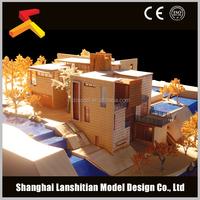 luxurious wooden villa, wood prefabricated villa, new model villa