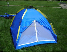 hot selling 4person automatic open waterproof camping tent