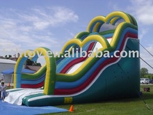 HTH PVC residential inflatable water slides