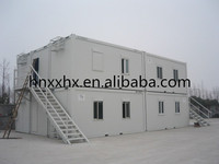 Construction site steel prefabricated modular container house