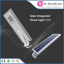 Fine workmanship ip66 all in one solar street lamp