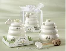 Ceramic Wedding Gifts Favor Honey Salt and Pepper Shaker