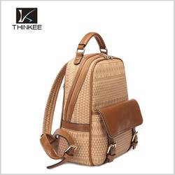 European school backpack/custom school backpack/girls leather backpack bags