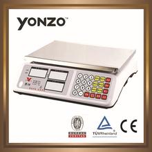 High quality ACS 30kg electronic price computing digital food scale YZ-966